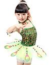 رقص الباليه الفساتين أداء بوليستر / تول ترتر بدون كم ارتفاع متوسط فستان / Neckwear / سوار / الأداء
