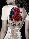 1 Tatueringsklistermärken Blomserier Ogiftig Stam Ländrygg VattentätDam Herr Vuxen Tonåring Blixttatuering tillfälliga tatueringar