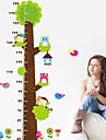 Animale Perete Postituri Autocolante perete plane Adezive de Măsurat Înălțimea,Vinil Pagina de decorare de perete Decal For Perete