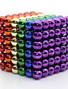 Jucării Magnet Super Strong pământuri rare magneți bile magnetice 216 Bucăți 5mm Jucarii MetalPistol Clasic & Fără Vârstă Magnetic Pătrat