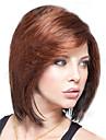 Synteettiset peruukit Tyyli Bob-leikkaus Peruukki Ruskea Tumman ruskea Synteettiset hiukset Naisten Ruskea Peruukki Lyhyt