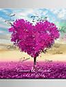 tree love e-home® semnatura personalizate panza cadru violet