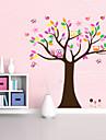 copac frumos colorate pentru decor acasă perete Decal zooyoo5084 decorativ detașabil autocolant perete pvc
