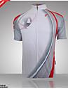 GETMOVING Ανδρικά Γυναικεία Γιούνισεξ Κοντομάνικο Φανέλα ποδηλασίας Ποδήλατο Αθλητική μπλούζα Μπολύζες Αναπνέει Γρήγορο Στέγνωμα Ανατομικός Σχεδιασμός Αθλητισμός Πολυεστέρας Coolmax® Τερυλίνη