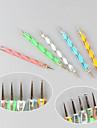 5st nagel konst verktyg utspridda målning plast + järn pennor