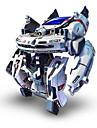 7 In 1 Robotar Soldrivna leksaker Leksaker Soldriven Uppladdningsbar ABS Bitar Present