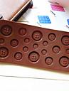 mucegai buton în formă de bomboane de ciocolata brioșă copt mucegai (culoare aleatorii)