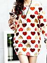 pentru femei de imprimare dragoste vrac t-shirt
