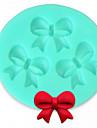matrite bakeware silicon arc de copt pentru tort fondantă bomboane de ciocolata (de culoare aleatorii)