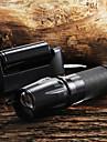 W-878 Nyckelringsficklampor LED 2200 Lumen 5 Läge Cree XM-L T6 Justerbar fokus Greppvänlig Zoombar för Camping/Vandring/Grottkrypning