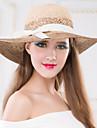 Femei Împletitură Stil Coș Diadema-Ocazie specială / Exterior Pălării/Căciuli 1 Bucată Head circumference Adjustable(53-58cm)