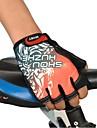 gants de vélo/Cyclisme doigts bleu, noir, gris, rouge