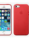 Pentru iPhone 8 iPhone 8 Plus Carcasă iPhone 5 Carcase Huse Other Carcasă Spate Maska Culoare solidă Greu Piele Naturala pentru iPhone 8