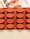 bakeware oval forme pentru copt cookie-uri de ciocolată mucegai mucegai gheață mucegai