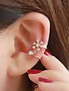 Pentru femei Cătușe pentru urechi - Ștras Argintiu / Auriu Pentru Nuntă / Petrecere / Zilnic
