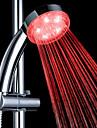 3-temperature de couleur abs detectable changement de couleur conduit douche a main