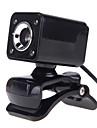 Cameră Web - OEM - A862 - LED vedere nocturnă/Microfon Încorporat/HD Video Calling/Flexibil/Skype - 10 - 640 x 480 - Noutate