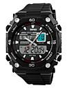 SKMEI Bărbați Ceas Sport Ceas de Mână Quartz Quartz Japonez LCD Calendar Cronograf Rezistent la Apă Zone Duale de Timp alarmă Ceas Sport