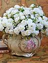 flori artificiale mini luminoase de culoare de înaltă calitate, trandafir flori de mătase de nunta si decorative