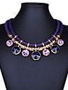 Pentru femei Bijuterii Vintage Modă Bijuterii Statement Festival/Sărbătoare Coliere Pietre sintetice Cristal Coliere . Petrecere Ocazie
