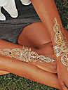 1 Tatueringsklistermärken Smyckeserier Ogiftig Hawaiisk Ländrygg VattentätDam Herr Vuxen Tonåring Blixttatuering tillfälliga tatueringar