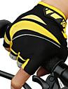 CoolChange Aktivitet/Sport Handskar Cykelhandskar Vattentät Reflekterande Bärbar Andningsfunktion Slitsäker Fingerlösa Nät Cykling / Cykel