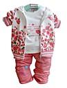 Fata lui Roz / Roșu Floral Amestec Bumbac Primăvară / Toamnă Roz / Roșu