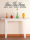 Cuvinte & Citate Perete Postituri Autocolante perete plane Autocolante de Perete Decorative, Vinil Pagina de decorare de perete Decal