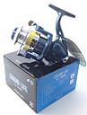 Carrete de la pesca Carretes para pesca spinning 5.1:1 Relacion de transmision+4.0 Rodamientos de bolas Orientacion de las manos Intercambiable Pesca de baitcasting / Pesca en hielo / Pesca al