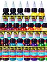 Solong tatouage encres 21 couleurs set 1 oz 30ml / bouteille de tatouage kit de pigment