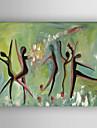 Pictat manual Abstract Orizontal, Modern pânză Hang-pictate pictură în ulei Pagina de decorare Un Panou