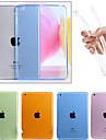 Maska Pentru Apple iPad Mini 4 iPad Mini 3/2/1 iPad 4/3/2 iPad Air 2 iPad Air Transparent Capac Spate Culoare solidă Moale TPU pentru