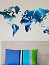 planetă harta mondială autocolante de perete ești decalcomanii