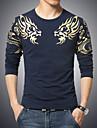 Bărbați Mărime Plus Size Tricou Sport Boho Imprimeu Bumbac