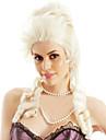 Syntetiske parykker Løst, bølget hår Stil Lågløs Paryk Blond Blond Syntetisk hår Dame Blond Paryk Medium Længde