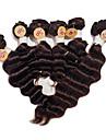 Human Hår vävar Brasilianskt hår Stora vågor 12 månader hår väver