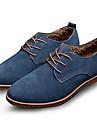 Bărbați Pantofi Piele de Căprioară Primăvară Toamnă Iarnă Confortabili Noutăți Oxfords Dantelă Pentru Casual Party & Seară Negru Maro