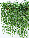 9 bifurcate / buchet boston frunze de iedera rattan (2 buchet) decoratiuni interioare