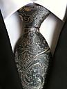 Bărbați Imprimeu Vintage Draguț Petrecere Birou, Poliester - Cravată