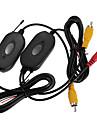 2.4GHz rca trådlös sändare mottagare kit för bil backkamera