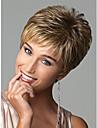 人工毛ウィッグ ウェーブ / 欧風 ブロンド ピクシーカット ブロンド 虹色 合成 女性用 ヨーロッパの織物 ブロンド かつら ショート キャップレス