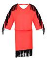 FEMEI - Costume ( Bumbac ) Informal Rotund - ½ Lungime Mânecă