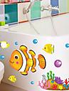 Landskap Jul Blommig Högtid Väggklistermärken Väggstickers i 3D Dekrativa Väggstickers, Vinyl Hem-dekoration vägg~~POS=TRUNC Vägg