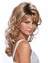 Syntetiska peruker Lockigt Densitet Utan lock Dam Blond Karneval peruk Halloween Paryk Mellan Syntetiskt hår