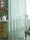Stångficka Hyls-topp Hällor topp Dubbel veckad Penn veck Två paneler Fönster Behandling Land, Ihålig Sovrum Polyester Material Skira