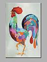 Peint a la main AnimalModerne Un Panneau Toile Peinture a l\'huile Hang-peint For Decoration d\'interieur