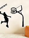 Oameni Sporturi Perete Postituri Autocolante perete plane Autocolante de Perete Decorative,Vinil Pagina de decorare de perete Decal For