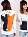 Inspirat de Natsume Yuujinchou Pisica Anime Costume Cosplay hanorace Cosplay Imprimeu Peteci Manșon Lung Vârf Pentru Bărbați Pentru femei