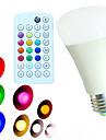 E26/E27 Bulb LED Glob A60(A19) 18 led-uri SMD 5730 Intensitate Luminoasă Reglabilă Telecomandă Decorativ Alb Cald Alb Rece Alb Natural RGB