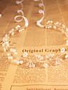 Cristal Imitation de perle Bandeaux 1 Mariage Occasion speciale De plein air Casque